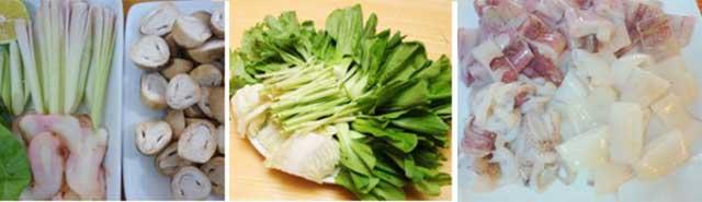 Cách nấu lẩu thái hải sản ngon chuẩn bị