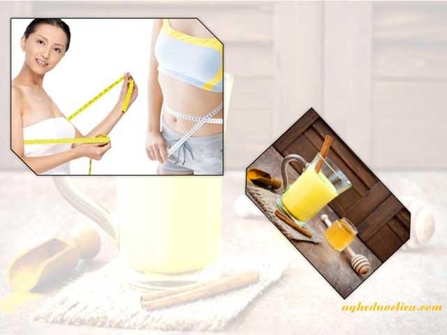 cách uống tinh bột nghệ tăng cân - cách uống tinh bột nghệ giảm cân