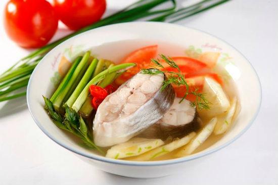 Món canh chua cá lóc hấp dẫn người ăn