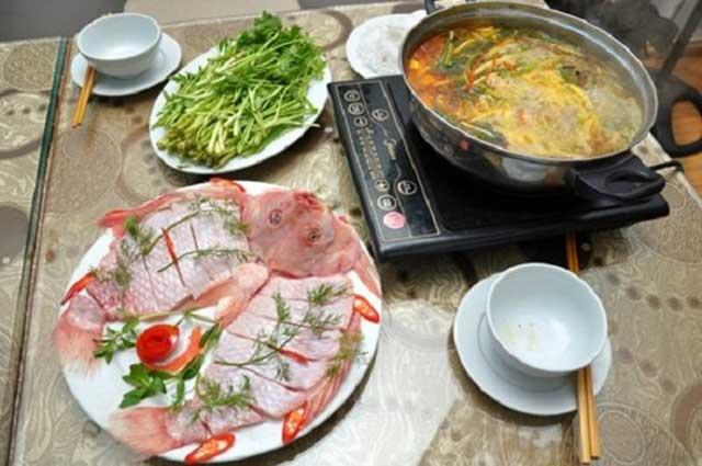 Cách nấu lẩu cá diêu hồng ngon, không tanh – ăn một lần nhớ mãi
