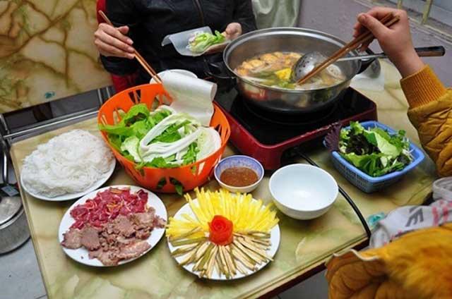 Gia vị nấu lẩu bò thơm ngon