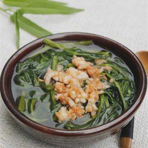 Cách làm món canh rau muong nau tom