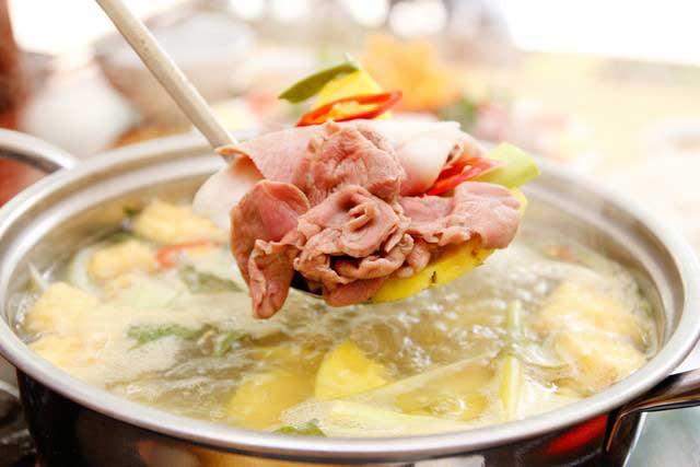 Cách nấu lẩu bò