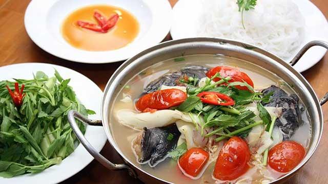 lẩu cá lăng - món ăn ngon hấp dẫn