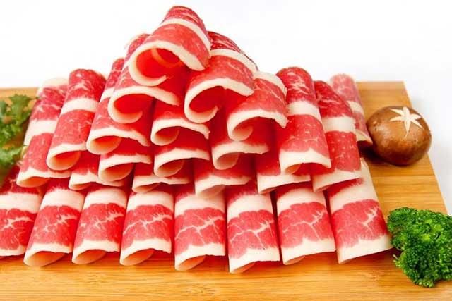 Sơ chế thịt bò