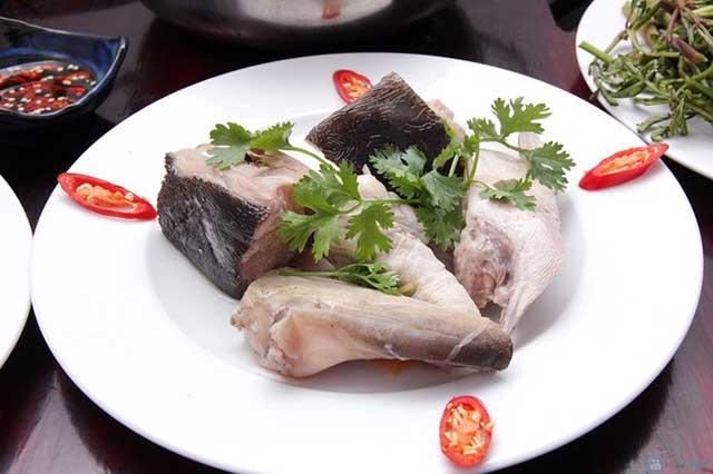 cá bớp nấu lẩu