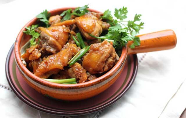 Trình bày món ăn hấp dẫn từ vịt