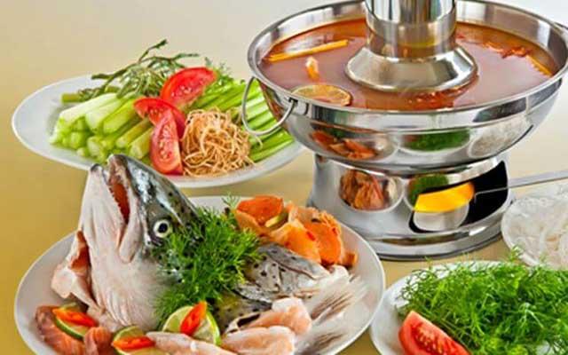 cách nấu lẩu cá bóp