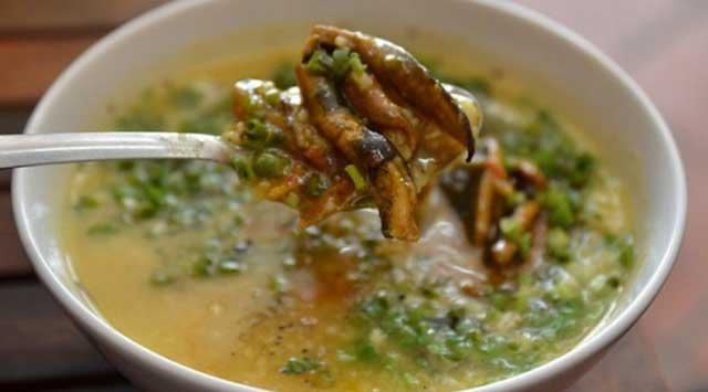 Nấu cháo lươn