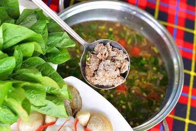 Cách nấu lẩu cua đồng hải phòng