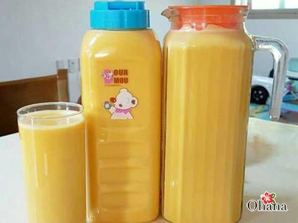 Bảo quản sữa bí ngô