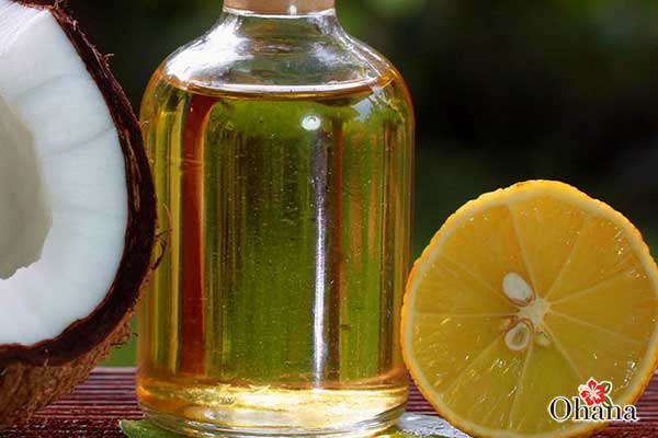 Màu sắc của dầu dừa