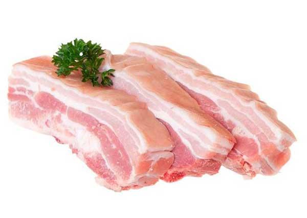 Thịt ba chỉ làm món thịt rang cháy cạnh