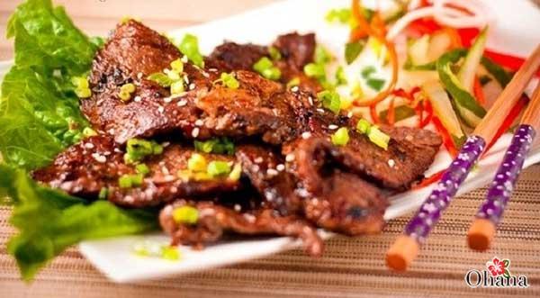 Cách nướng thịt bò