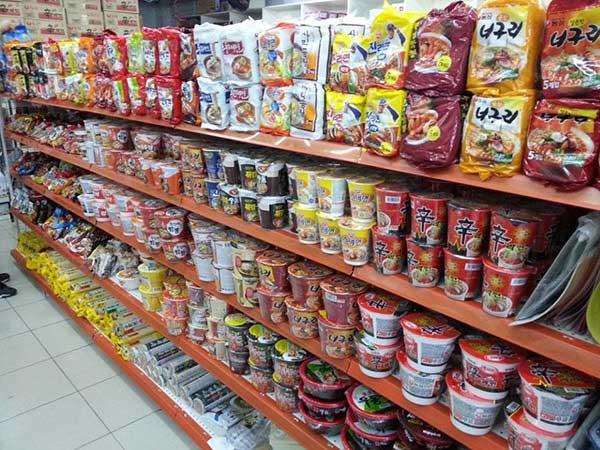 Lựa chọn mỳ gói Hàn Quốc