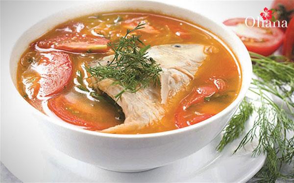 Món cá chép nấu riêu ngon