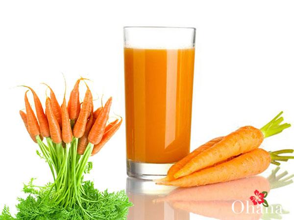 Cách làm sinh tố cà rốt