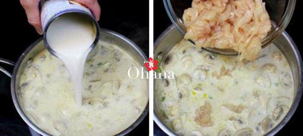 Sử dụng nước cốt dừa cho món ăn thêm hấp dẫn
