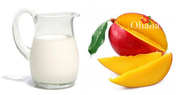 Sử dụng sữa tươi