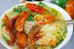 Cách nấu bún cá chuẩn vị Hà Nội