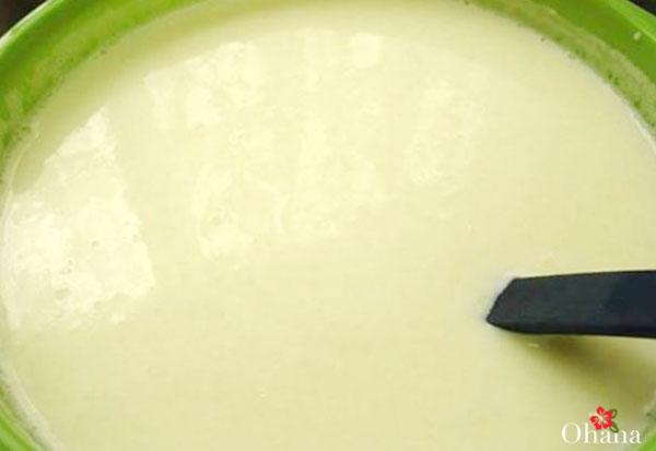 Hòa tan sữa đặc
