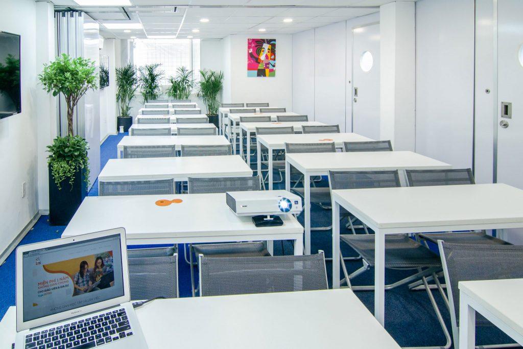 Phòng học chất lượng cao, hiện đại