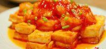 Cách làm đậu phụ sốt cà chua