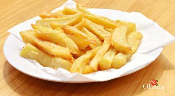 Làm khoai tây ăn kèm
