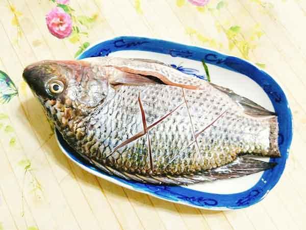 Thực hiện sơ chế cá