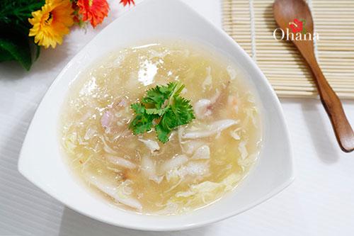 Cách nấu súp hải sản
