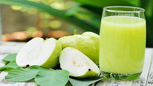 Cách làm nước ép ổi thơm ngon – tốt cho sức khỏe