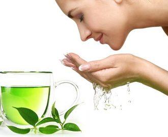 Cách chống nắng cho bà bầu bằng trà xanh