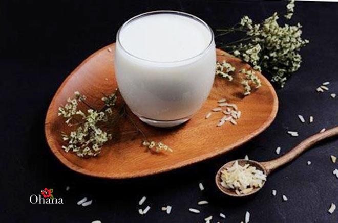 Kỹ thuật làm sữa gạo rang