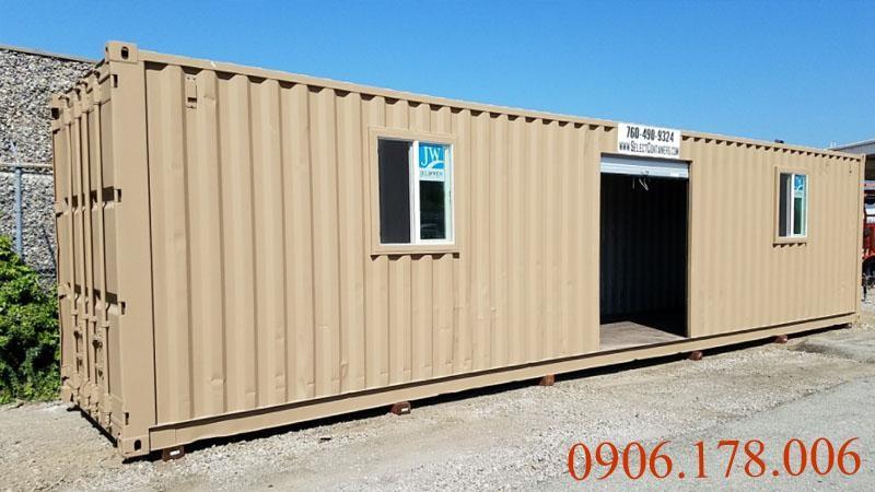 Bán container văn phòng giá rẻ cạnh tranh về chất lượng và giá thành